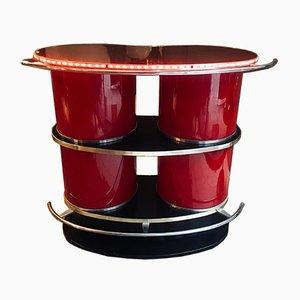 Bar rojo, años 60