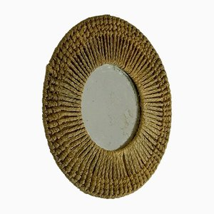 Mid-Century French Mirror by Adrien Audoux & Frida Minet, 1950s