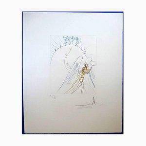 Acquaforte The Lost Paradise di Salvador Dali, 1974