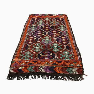 Small Vintage Turkish Kilim Rug, 1960s