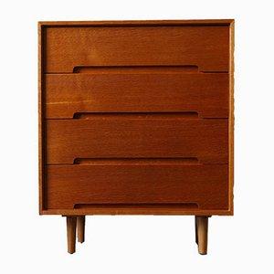 Mobiletto C Range in quercia di John & Sylvia Reid di Stag Furniture, anni '50