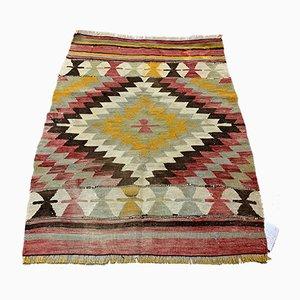 Türkischer Vintage Kelim Teppich, 1950er