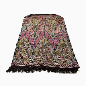 Alfombra Kilim turca vintage de lana, años 50
