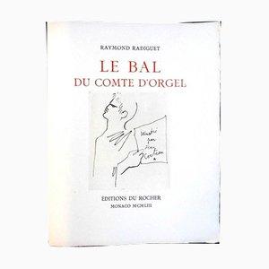 Le Bal Du Comte D'Orgel Portfolio with 34 Etchings by Jean Cocteau, 1953