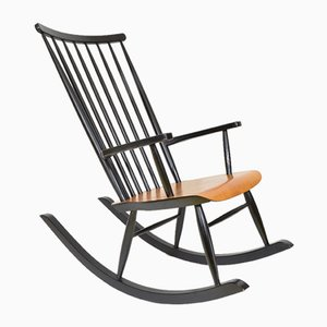 Finnish Rocking Chair by Ilmari Tapiovaara, 1960s