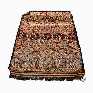Türkischer Vintage Kelim Teppich aus Ziegenhaar, 1950er