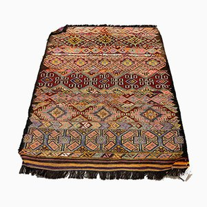 Vintage Turkish Goat Hair Kilim Rug, 1950s