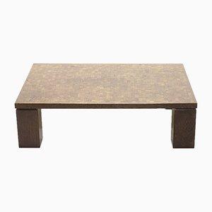 Table Basse Brutaliste en Wengé par Rolf Middelboe pour Tranekær Furniture, 1970s