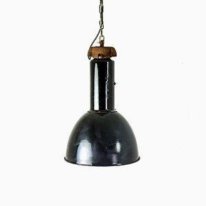 Vintage Industrial Pendant Lamp, 1940s