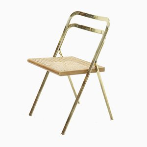 Mid-Century Folding Chair by Giorgio Cattelan for Cidue, 1970s