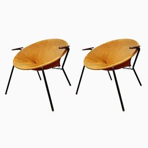 Dänische Balloon Stühle von Hans Olsen für Lea, 1960er, 2er Set