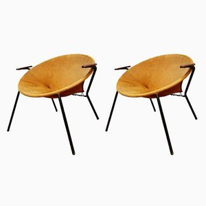 Danish Balloon Chairs by Hans Olsen for Lea, 1960s, Set of 2