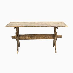 19th-Century Swedish Farmhouse Table