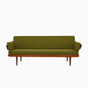 Sofá cama Minerva vintage de Peter Hvidt & Orla Mølgaard-Nielsen para France & Søn, años 60