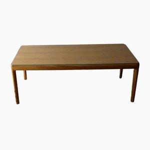 Mesa de centro de madera de Walter Knoll / Wilhelm Knoll, años 60