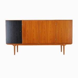 Vintage Teak Highboard from Omann Jun, 1960s
