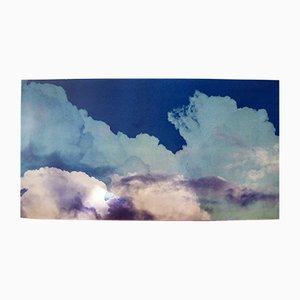 Stampa vintage su cielo nuvoloso di Franco Fontana per A. Villani & Figli, 1976