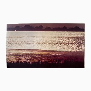 Vintage Italian Landscape Print by Franco Fontana for A. Villani & Figli, 1976