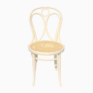 Antique White Dining Chair from Thonet, 1900s