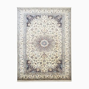 Handgeknüpfter orientalischer Vintage Teppich aus Wolle & Seide, 1964