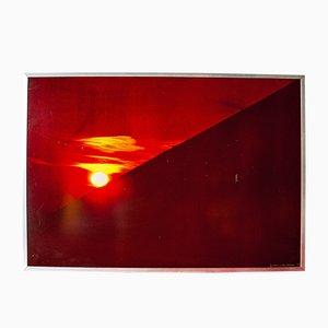 Lámina fotográfica Sunrise italiana vintage de Franco Fontana, 1973