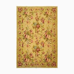 Handgeknüpfter orientalischer Vintage Teppich aus Wolle mit floralem Muster, 1973