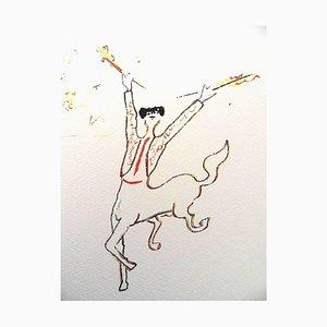The Picador Lithografie von Jean Cocteau, 1961