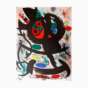 Affiche du Musée d'Art de Pasadena par Joan Miró, 1969