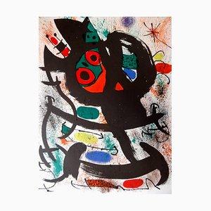 Póster del Museo de Arte de Pasadena de Joan Miró, 1969
