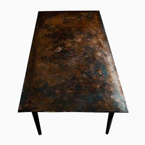 Tavolo in acciaio inossidabile di Michael Gittings