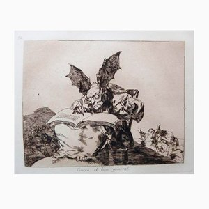 Portefolio The Disasters of War avec 80 Gravures à l'Eau-Forte par Francisco Goya, 1937