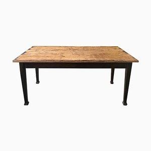 Mesa de comedor sueca vintage de madera, años 40