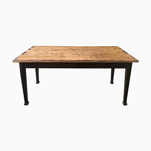 Vintage Swedish Wooden Dining Table, 1940s