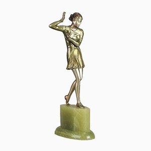 Österreichische Brigitte Skulptur von Josef Lorenzl, 1930er