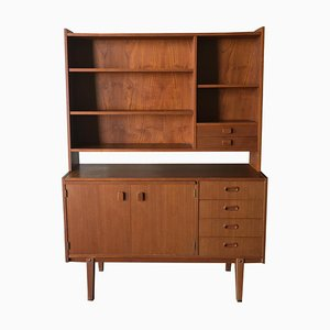 Vintage Swedish Teak Bookcase, 1960s
