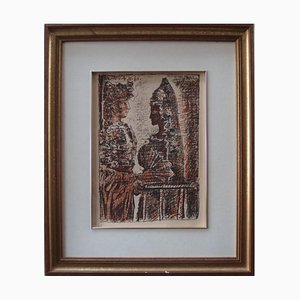 Torero y Senorita Lithograph by Pablo Picasso, 1960s