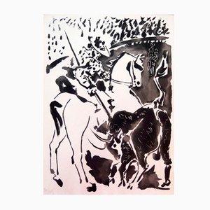Carmen Des Carmen Portfolio mit 5 Radierungen & Lithografien von Pablo Picasso, 1964