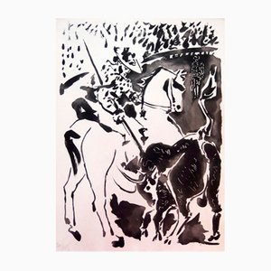 Portfolio Carmen Des Carmen con cinque incisioni e litografie di Pablo Picasso, 1964