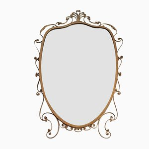 Italienischer Vintage Spiegel von Pier Luigi Colli, 1950er