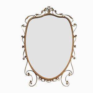 Vintage Italian Mirror by Pier Luigi Colli, 1950s