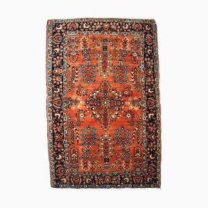 Alfombra Sarouk de Oriente Medio vintage