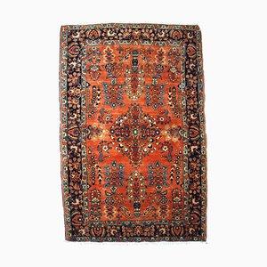 Vintage Middle Eastern Sarouk Rug