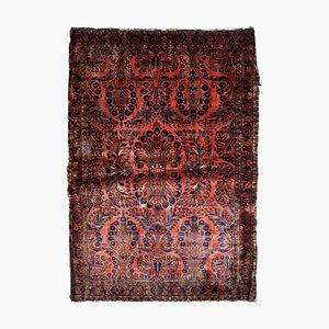 Roter orientalischer Vintage Teppich, 1920er