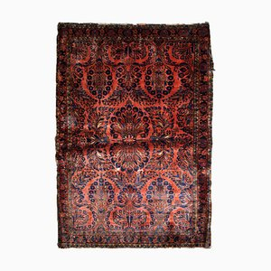 Vintage Middle Eastern Red Rug, 1920s