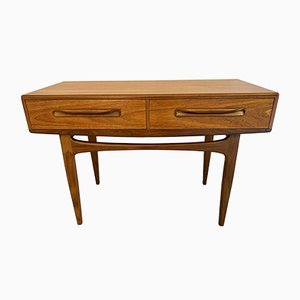 Vintage Console Table by Victor Wilkins for G-Plan, 1980s