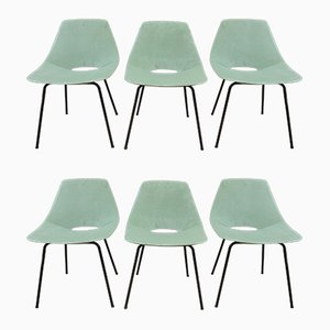 Dining Chairs by Pierre Guariche for Steiner, 1950s, Set of 6