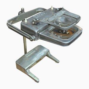 Lupa de joyería de aluminio de Loupeclaire, años 50