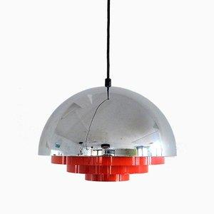 Danish Milieu Midi Pendant Lamp by Johannes Hammerborg for Fog & Mørup, 1970s