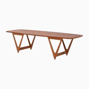 Tavolino da caffè di Kurt Østervig per Jason Møbler, anni '50