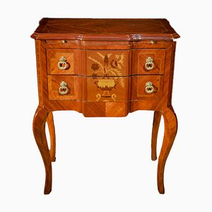 Antique French Bronze and Rosewood Dresser